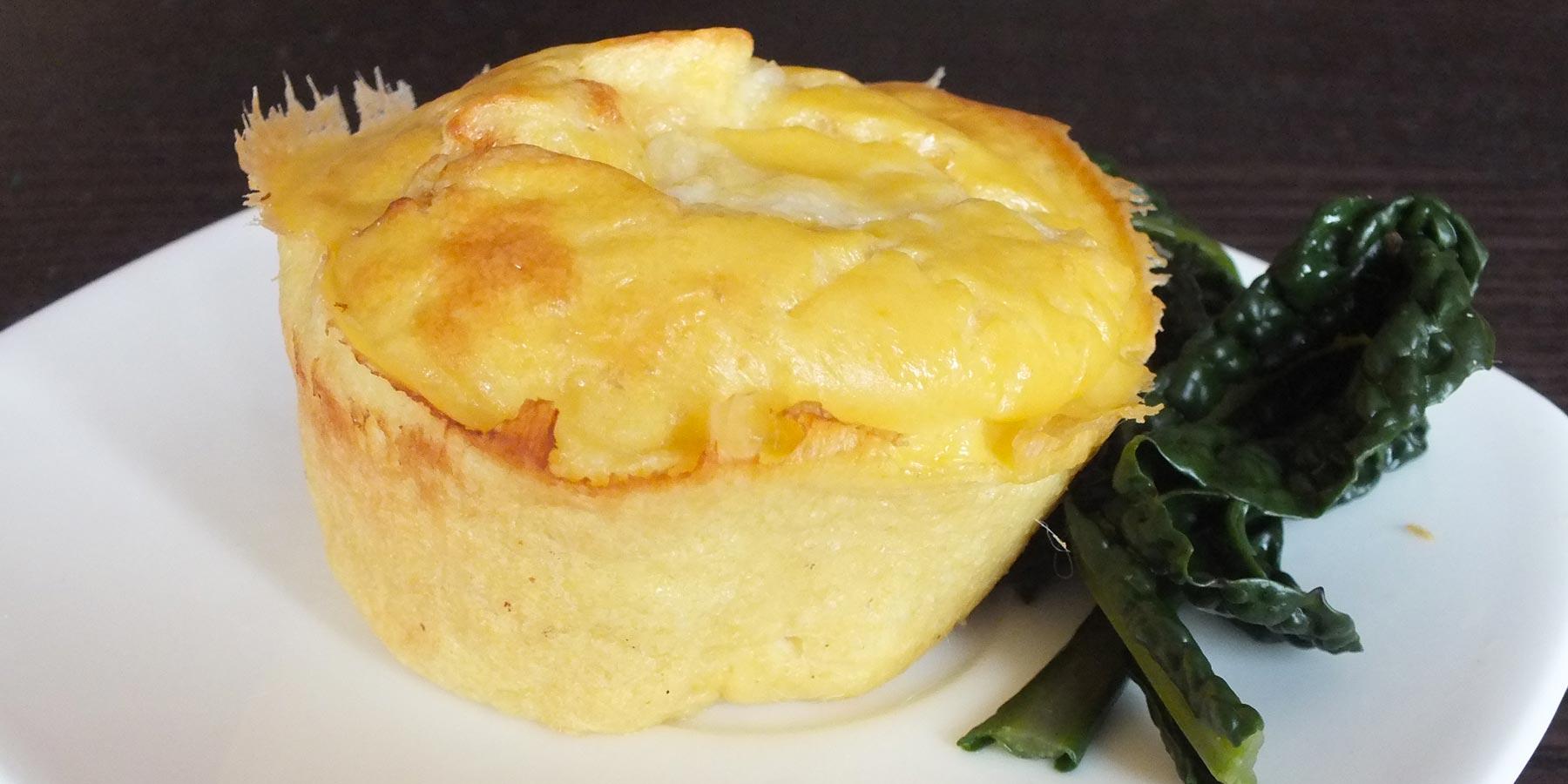 tortino al formaggio