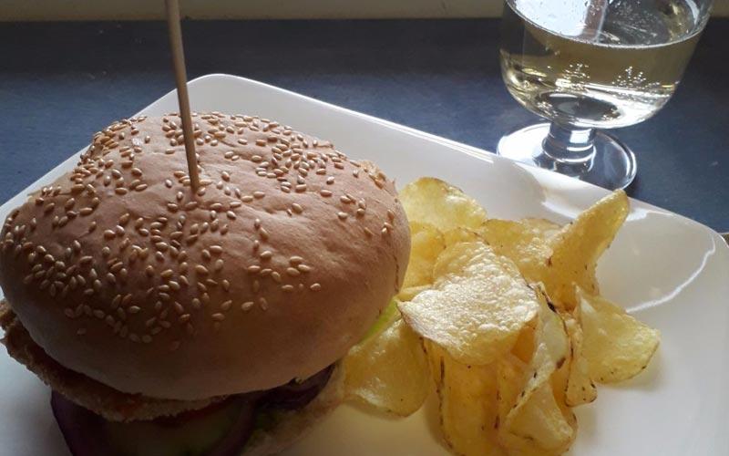 Hamburger di Tonno Biologico in vetro sgocciolato